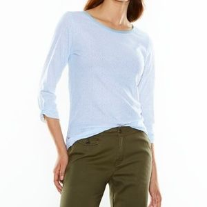 48 Lucy Carefree Casual Top in Gray